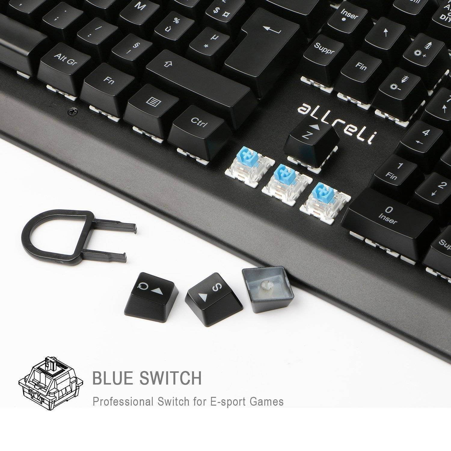 Clavier allreli switch