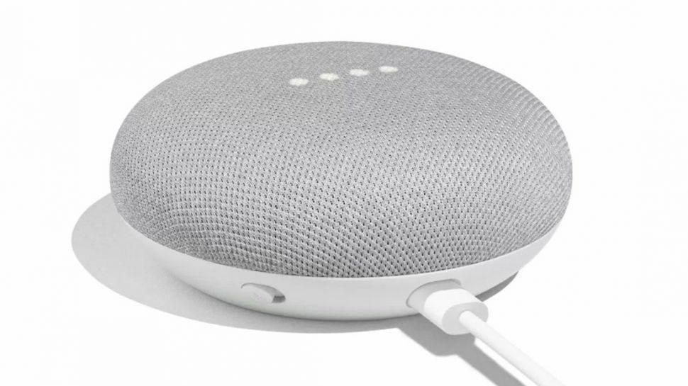 Google-Home-Mini blanc