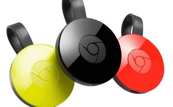 3 couleurs du chromecast