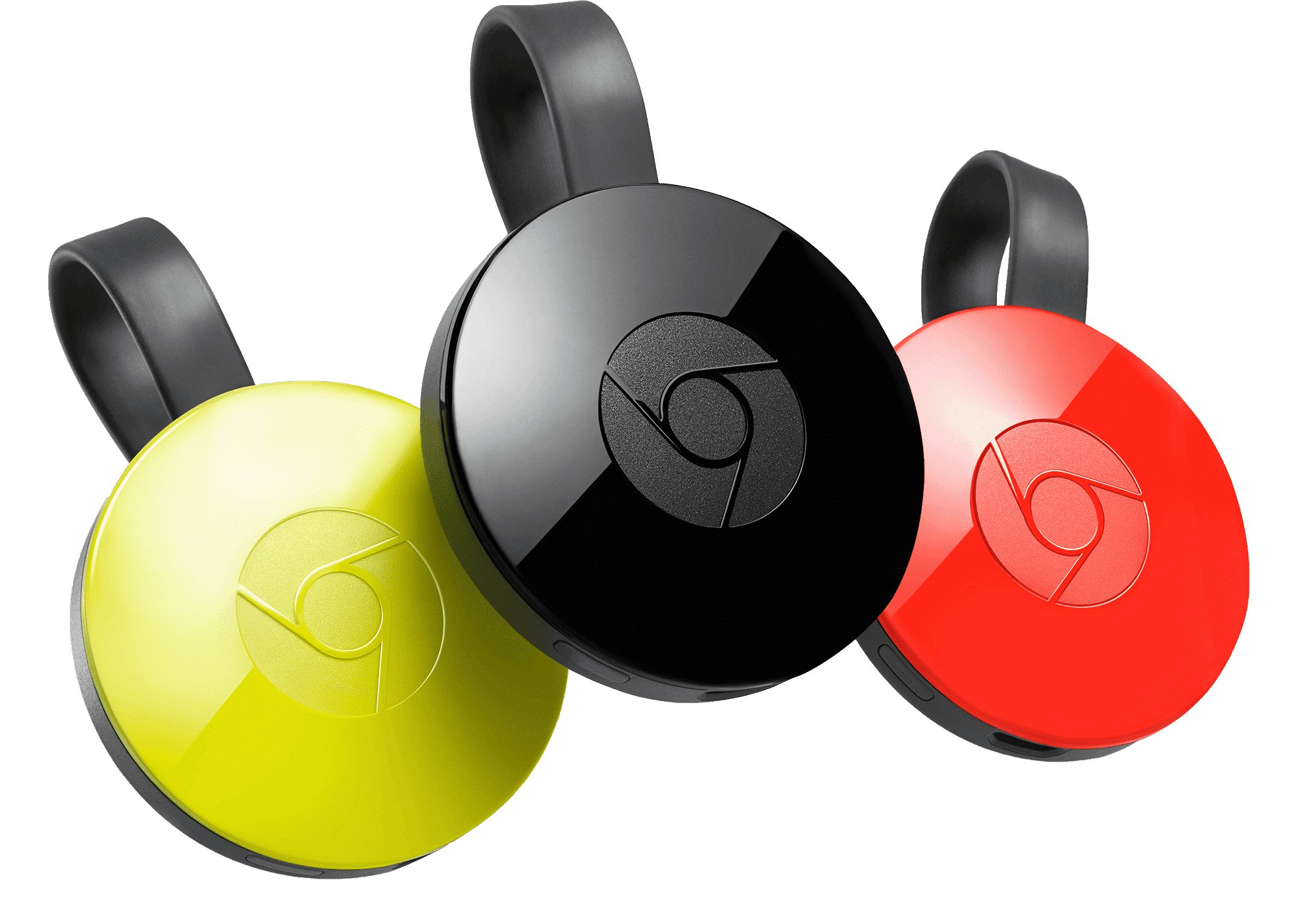 3 couleurs du chromecast
