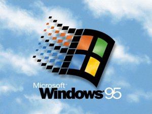 Logo de démarrage de Windows 95
