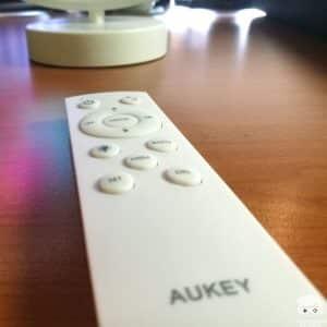 télécommande Aukey Aura Lamp
