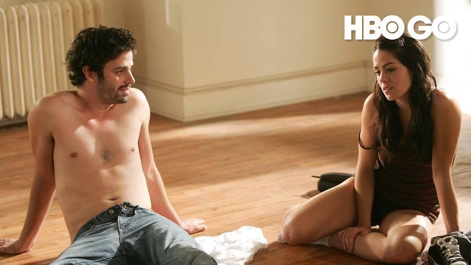 Le couple à nu (à tous les sens du terme) dans la radicale série Tell me you love me (2007)