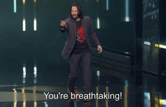 Image illustrant le meme créé sur Keanu Reeves.