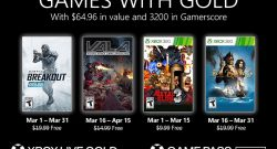 Games With Gold Mars 2021